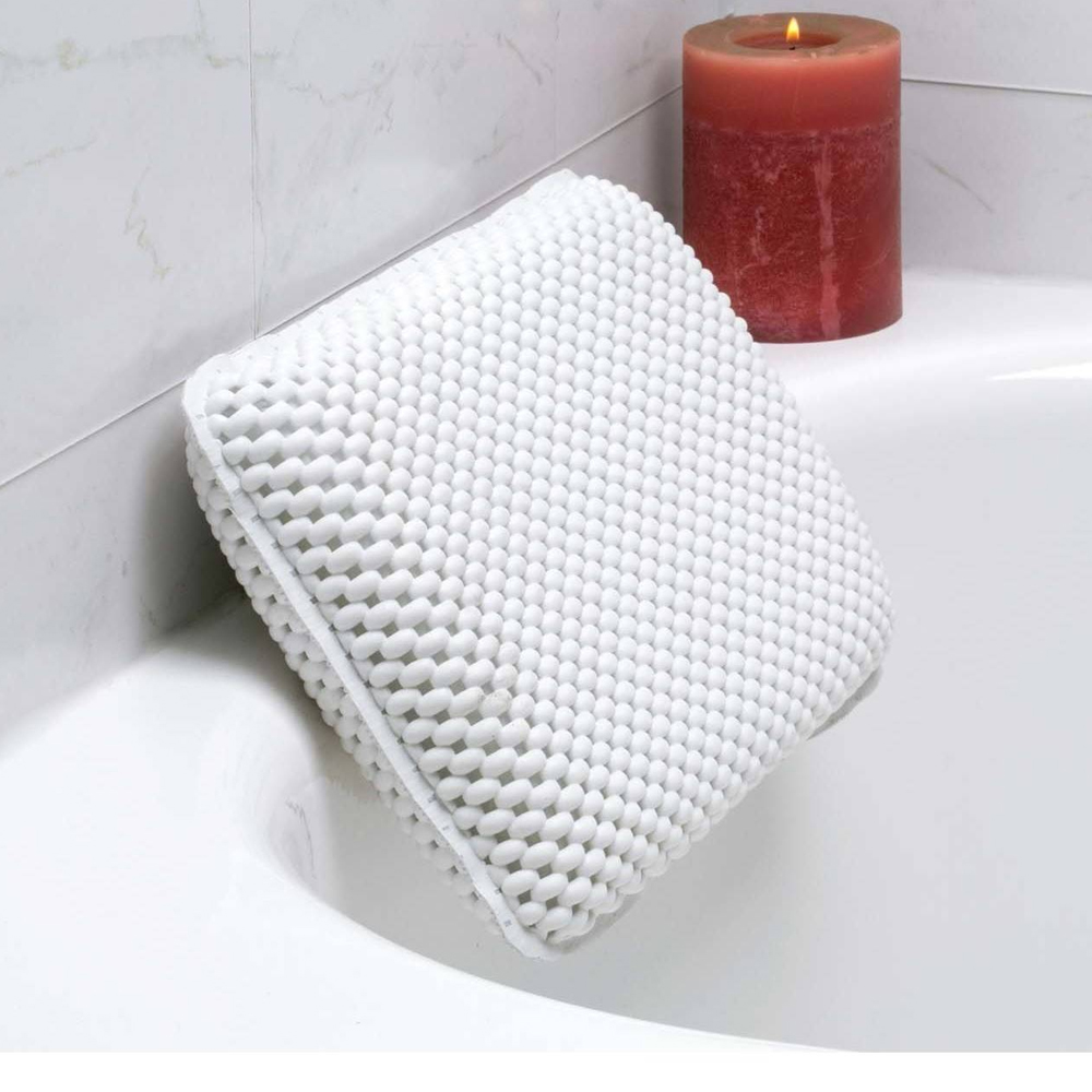 Luxuriously Soft Bath Pillow - Assorted Colors