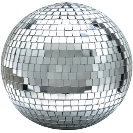Eliminator Lighting EM12 Mirror Ball, 12