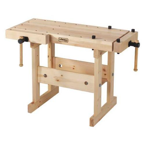 "SJOBERGS SJO-33365 Workbench,Birch,39"" W,19"" D G0697938"