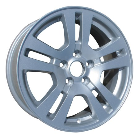 2007-2010 Ford Edge  17x7.5 Aluminum Alloy Wheel, Rim Sparkle Silver Full Face Painted - 3672