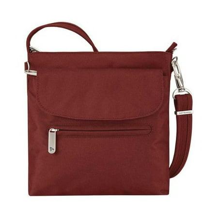 "Women's Travelon Anti-Theft Classic Mini Shoulder Bag 8.5"" x 8.5"" x 2.25"""