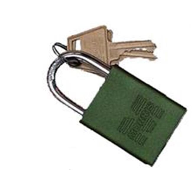 Padlocks Green Keyed Alike