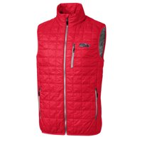 Seattle Seahawks Cutter & Buck Americana Rainier Full-Zip Vest - Red