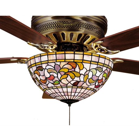 3 light turning leaf fan light - Victorian ceiling fans with lights ...