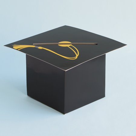 Graduation Cap Card Box 1ct Walmart Com