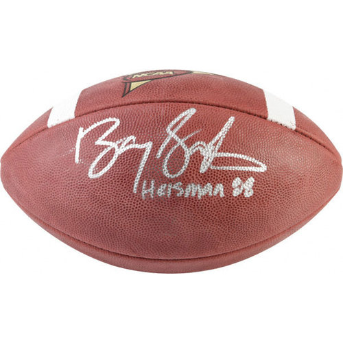 NFL - Barry Sanders Autographed Football