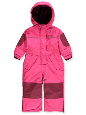 Pink Platinum Baby Toddler Girl One-Piece Snowsuit