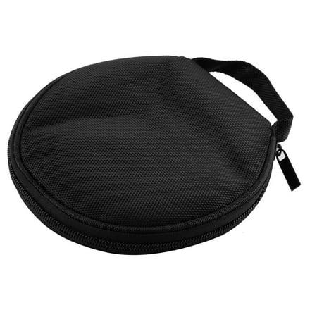 Compact Zip Case (Unique Bargains Zip Up CD DVD 20 Disc Storage Carry Case Wallet Disk Cover Holder Bag)