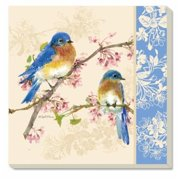 Counter Art CART34458 Bluebirds Coasters Set of 4