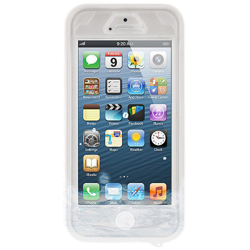 NAZTECH Vault Waterproof Cover for iPhone SE, 5 and 5s - White
