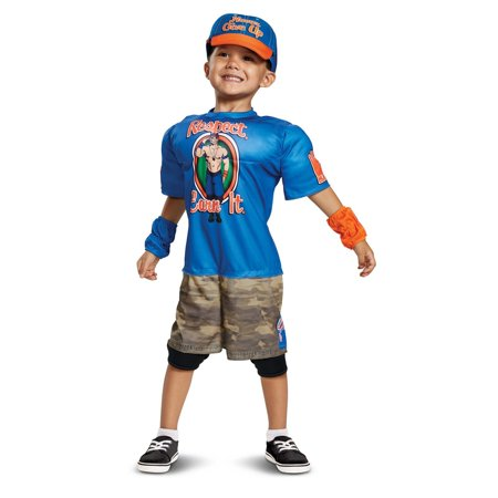 WWE John Cena Toddler Muscle Costume - John Hammond Costume