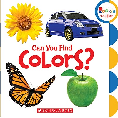 Can You Find Colors (Board Book)