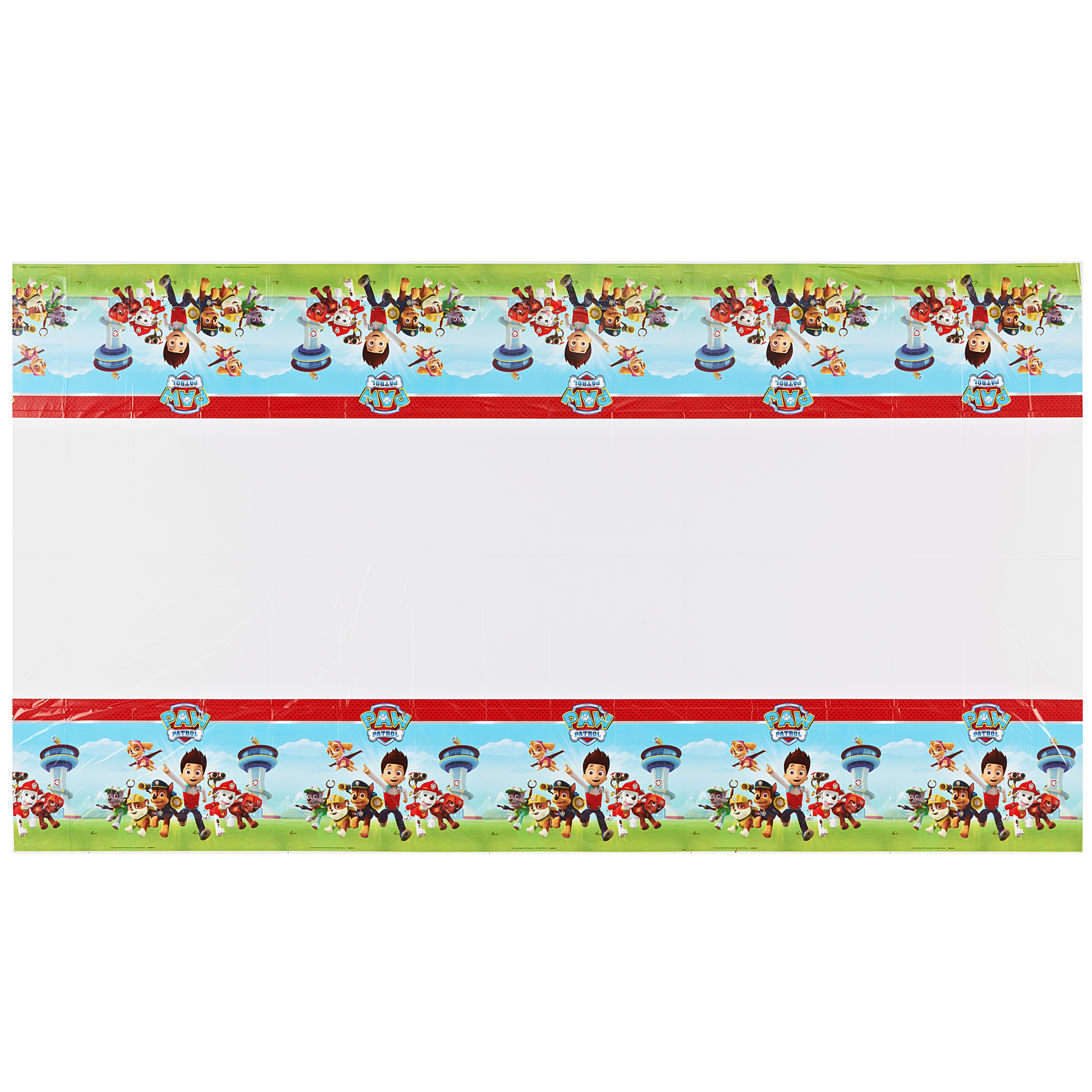 "PAW Patrol Plastic Table Cover, 54"" x 96"""