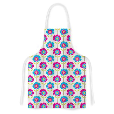 East Urban Home Lolly Flowers By Apple Kaur Designs Artistic Apron