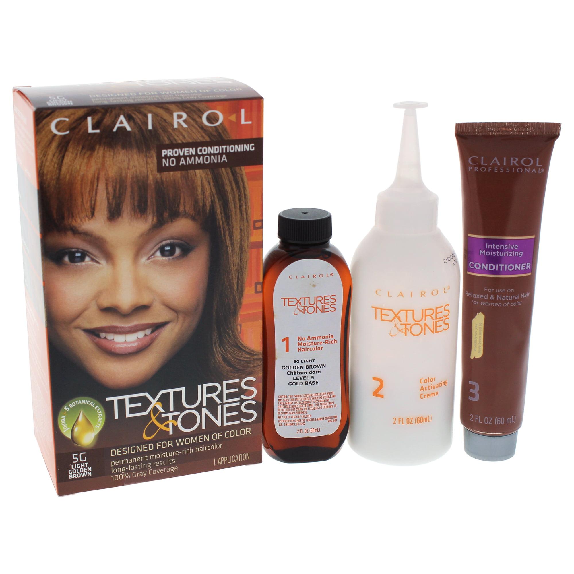 Clairol Textures & Tones Permanent Moisture-Rich Haircolor - # 1B Silken Black - 1 Application Hair Color