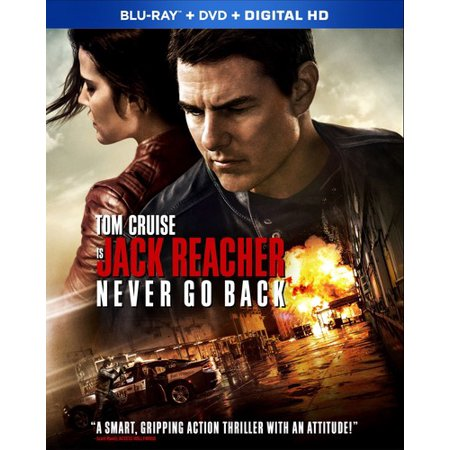 Jack Reacher: Never Go Back (Blu-ray + DVD) (Walmart (Jack Reacher Never Go Back Leather Jacket)