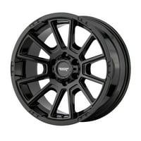 American Racing intake 17x8.5 6x114.3 18et 66.10mm gloss black wheel