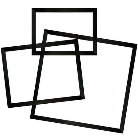 Black Aluminum Sectional Frame