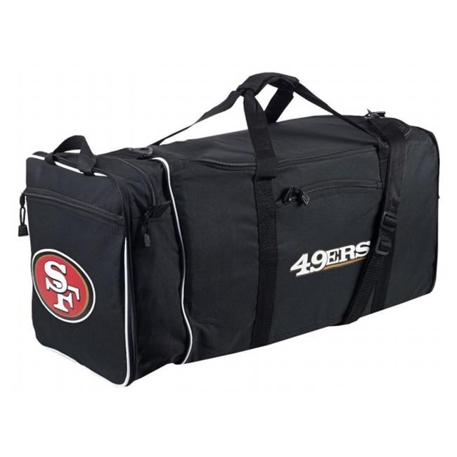 San Francisco 49ers Steal Duffel Bag - Black