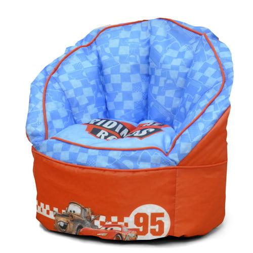 disney toddler cars bean bag chair walmart