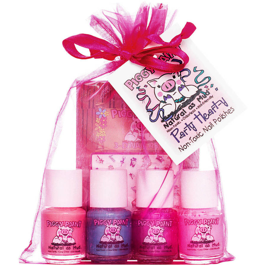 Piggy Paint Party Heart-y Mini Polish Gift Set, 5 pc