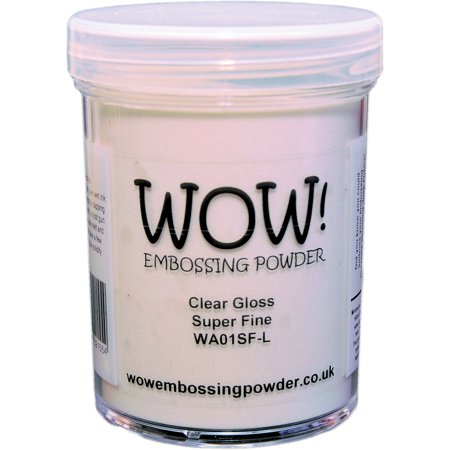 Embossing Powder Heat Tool - WOW! Embossing Powder Super Fine 15ml-Clear Gloss