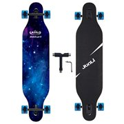 Best Longboard Skateboards - Junli 41 Inch Freeride Longboard Skateboard - Skateboard Review