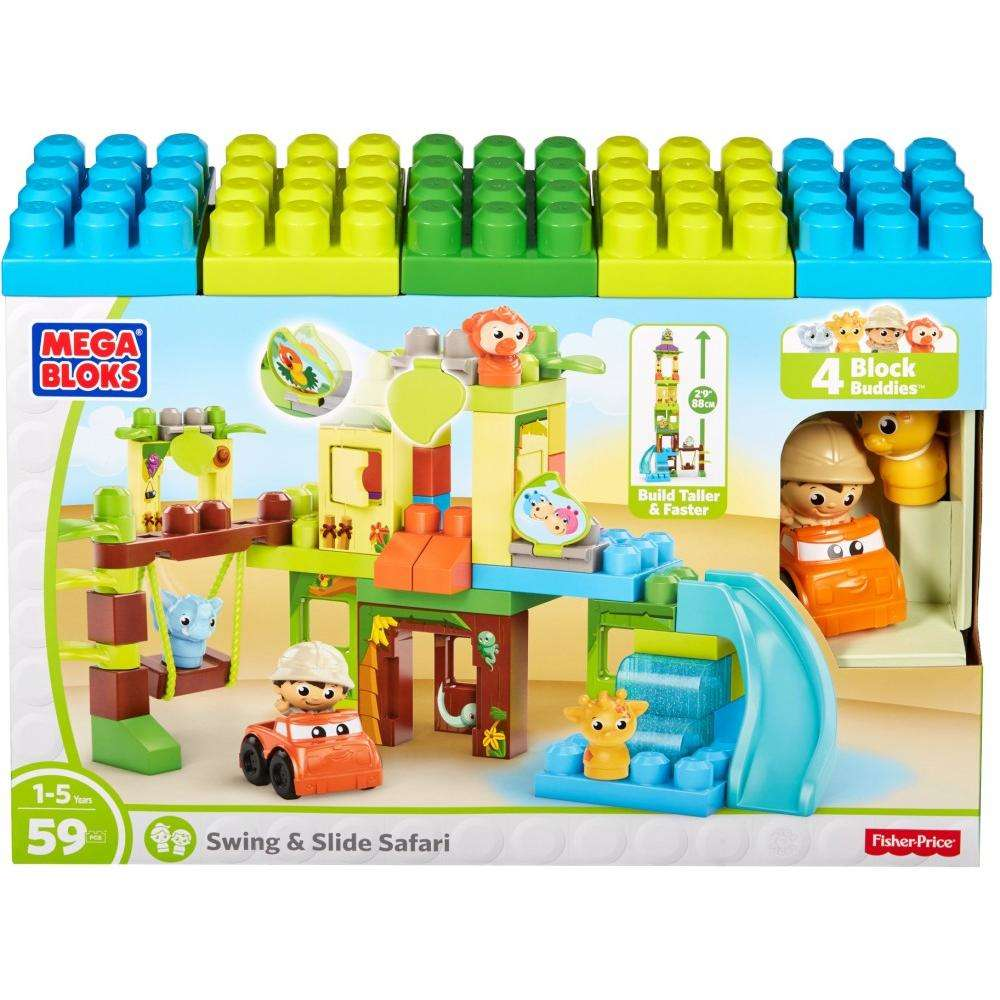 Mega Bloks Swing & Slide Safari