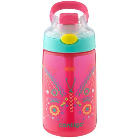 7cb664a1d0 Contigo 14 oz. Kid's Autospout Gizmo Flip Water Bottle - Walmart.com