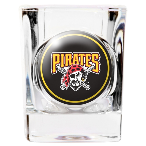 Pittsburgh Pirates Official MLB Square Shot Glass Great American Products 752663