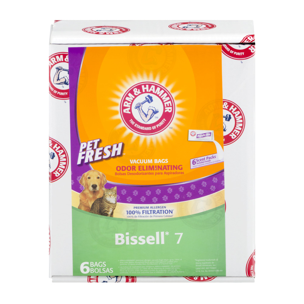 A&H Pet Fresh Bissell Style 7 Premium Paper Bag - 6 Pack