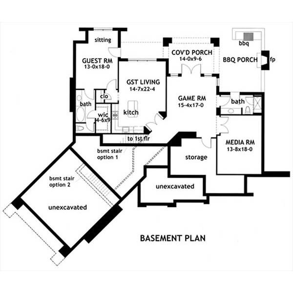 Thehousedesigners 1895 Construction Ready Craftsman Ranch House Plan