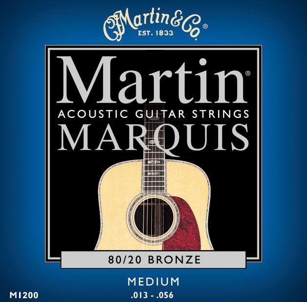 Martin Marquis 80/20 Bronze Medium Gauge Acoustic Strings