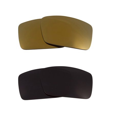 930a58ffb0ae4 Sideways Replacement Lenses Black   Gold Mirror by SEEK fits OAKLEY  Sunglasses
