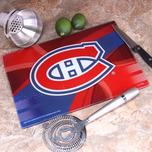 Montreal Canadiens 8'' x 11.75'' Carbon Fiber  Cutting Board - No Size