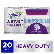 Swiffer WetJet Heavy Duty Mopping Pad Refills, 20 Ct