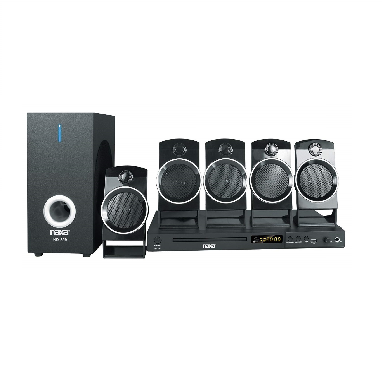 Naxa 5.1-Channel Home Theater DVD & Karaoke System