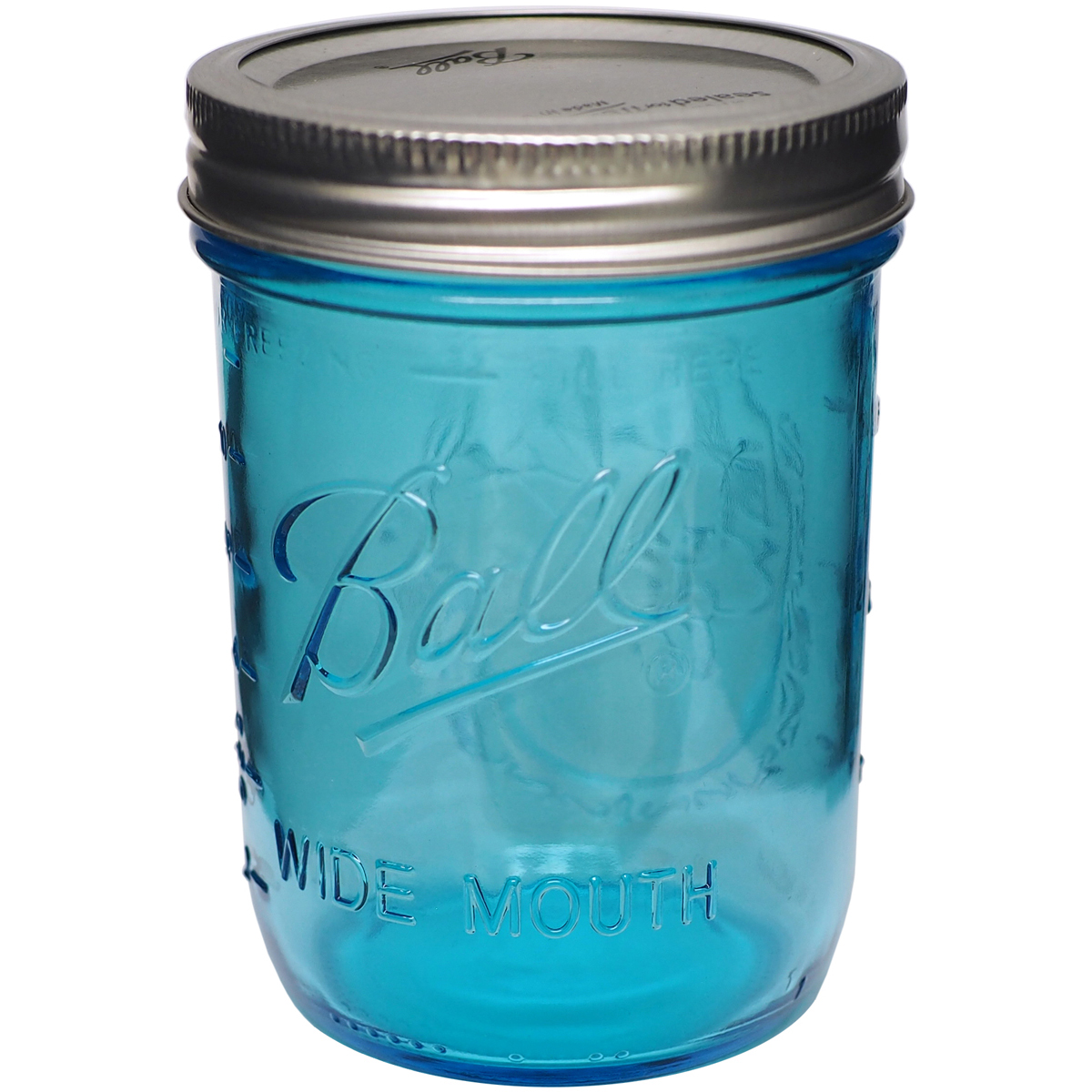 Ball (R) Wide Mouth Canning Jar-Pint Blue by Generic