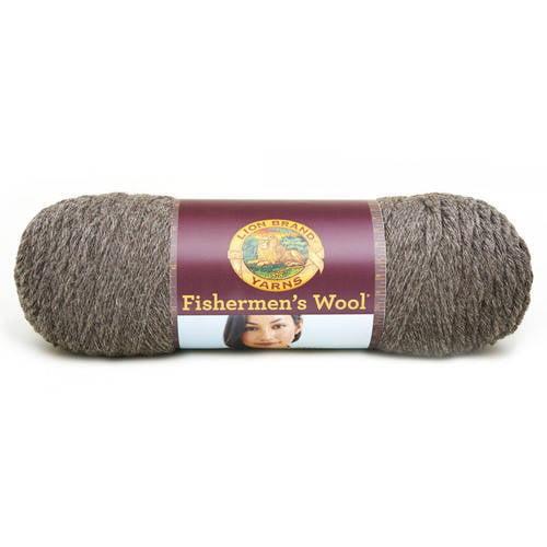 Lion Brand Yarn Fishermen's Wool Classic 100 Percent Wool Yarn, Undyed