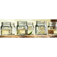Palais Glassware Palais 'Shots' Mason Jar Shot Glasses Mini Shot Glass Cups Holds 2.4 Oz Set of 6 (Clear) by Palais Glassware