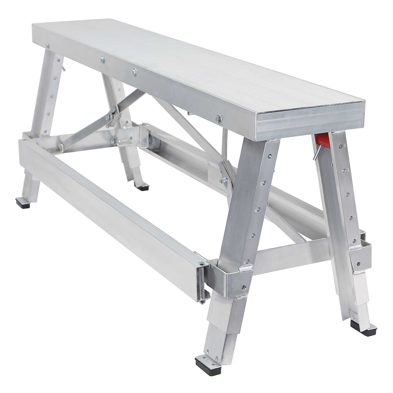 GypTool Adjustable Height Drywall Taping & Finishing Walk-Up Bench: 18 in. 30 in. by GypTool