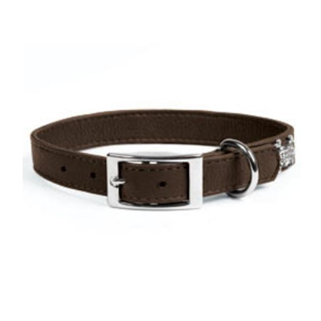 Rockinft Doggie Leather Collar Plain