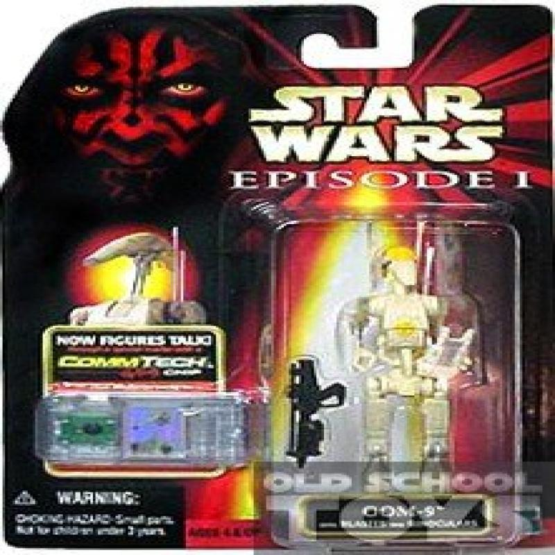 Star Wars Episode I ~ OOM-9 with Blaster and Binoculars (not in hand) ~ CommTech by Hasbro by Hasbro Inc