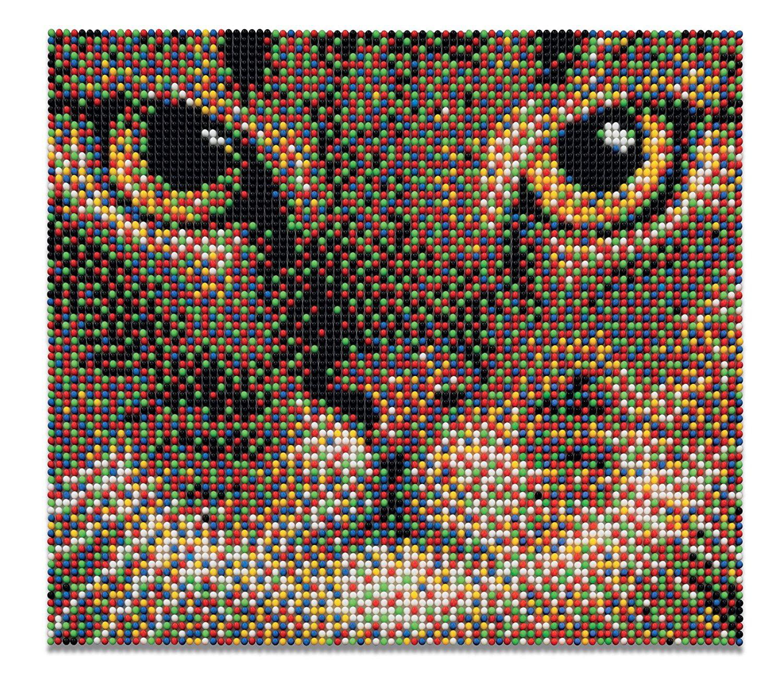 Cat Pixel Art Set Pixel Art Set By Quercetti Walmartcom