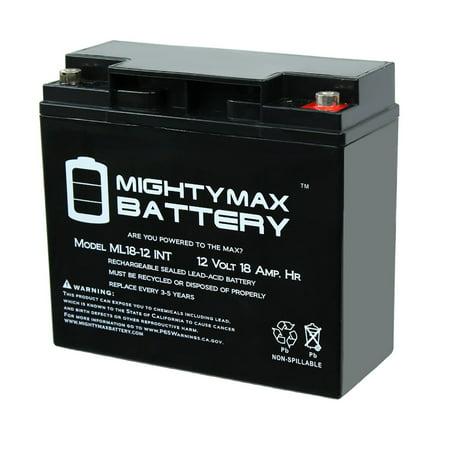 12V 18AH SLA Internal Thread Battery for Veloteq Cavalier GT RSV-GT