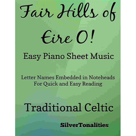 Fair Hills of Eire O Easy Piano Sheet Music - eBook - This Is Halloween Sheet Music Piano Easy