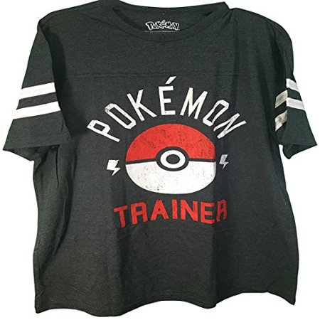 Pokemon Trainer Classic Distressed Big And Tall Men's T-Shirt - Pikachu T Shirt