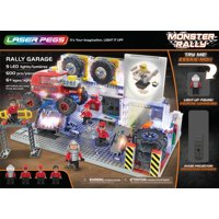 Laser Pegs Monster Rally Garage