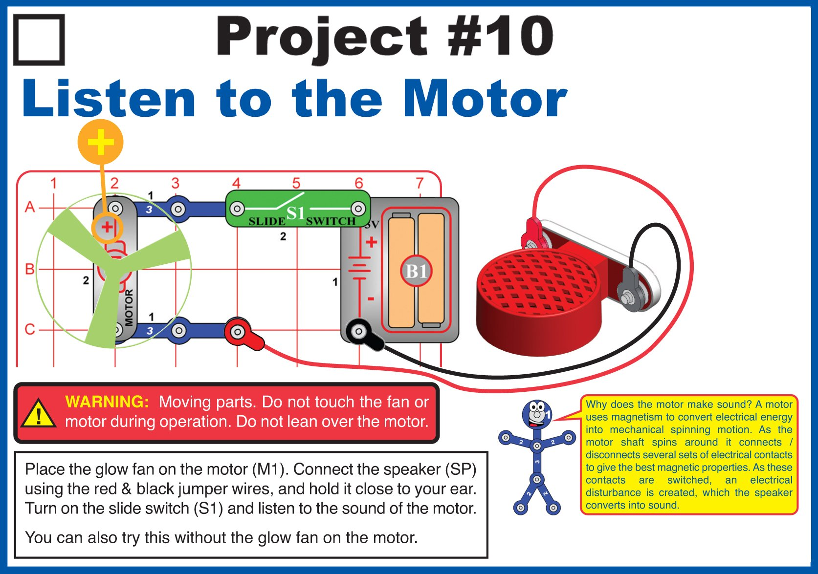 Elenco Circuit Maker 40 Basic Electronics Discovery Kit Project For You