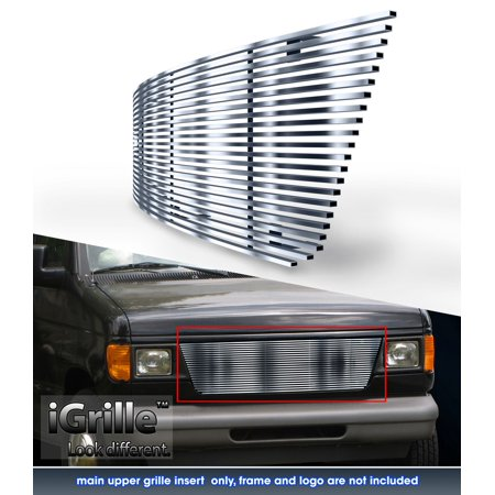 304 Stainless Steel Billet Grille Fits 1992-2006 Ford Econoline Van
